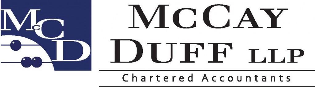 McCay Duff Logo Name and MCD Logo for Sponsorship